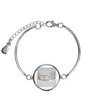 jewellery Metallic Circle Bracelet front