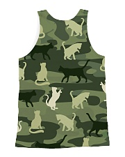 Cat Shadow 3101  All-over Unisex Tank back
