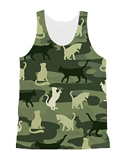 Cat Shadow 3101  All-over Unisex Tank front