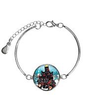 Black Cat Pine X-mas 0609 Metallic Circle Bracelet thumbnail