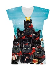 Black Cat Pine X-mas 0609 All-over Dress thumbnail