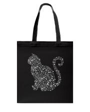 Cat snow - 0310  Tote Bag thumbnail