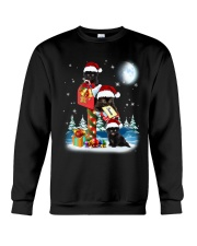 Black Cat In Mailbox Crewneck Sweatshirt front