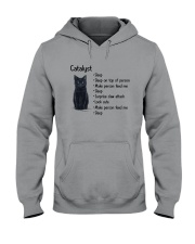 Cat Catalyst 1411 Hooded Sweatshirt thumbnail