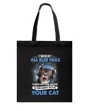 Dance with your Cat Tote Bag thumbnail