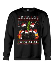 Black Cat Family Christmas Crewneck Sweatshirt thumbnail