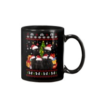 Black Cat Family Christmas Mug thumbnail