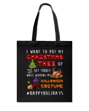 Happy Holiday Tote Bag tile