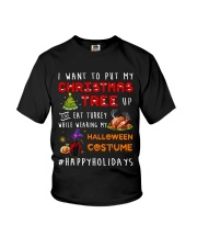 Happy Holiday Youth T-Shirt tile