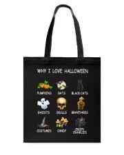 Why I Love Halloween Tote Bag thumbnail