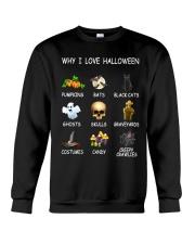 Why I Love Halloween Crewneck Sweatshirt thumbnail