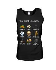 Why I Love Halloween Unisex Tank thumbnail