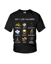 Why I Love Halloween Youth T-Shirt thumbnail