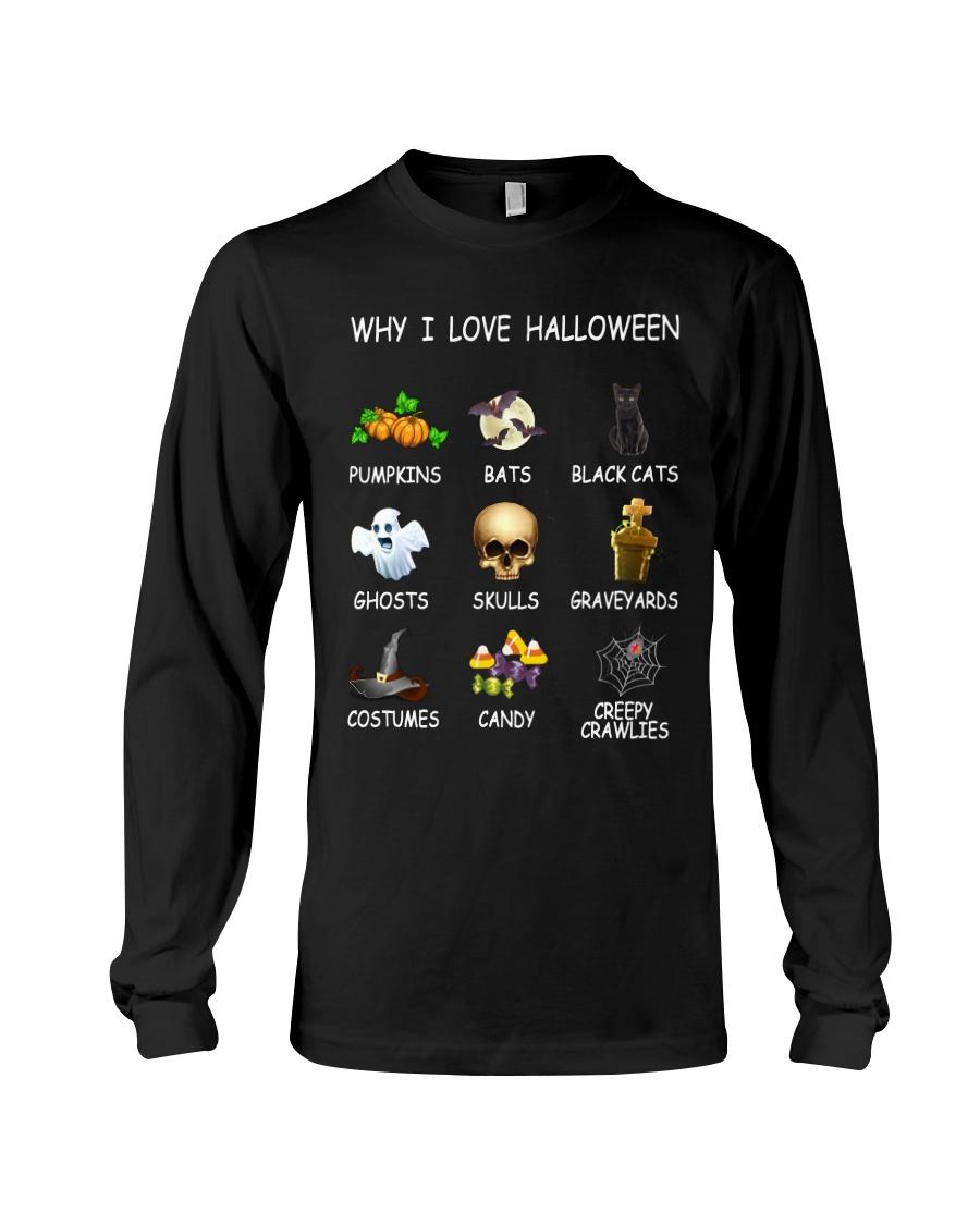 Why I Love Halloween Long Sleeve Tee