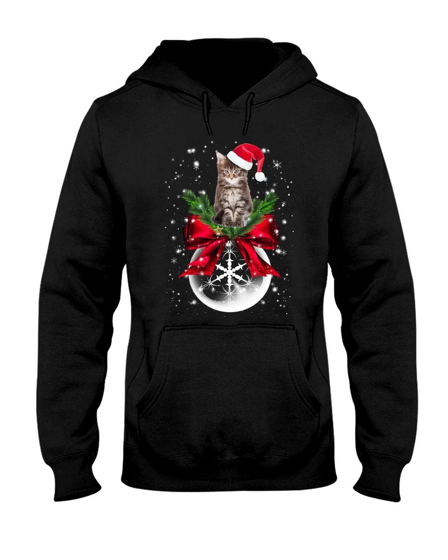 Maine Coon Xmas Hooded Sweatshirt
