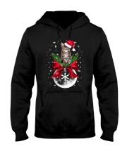 Maine Coon Xmas Hooded Sweatshirt front
