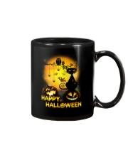 Cat and Owl Halloween Mug thumbnail