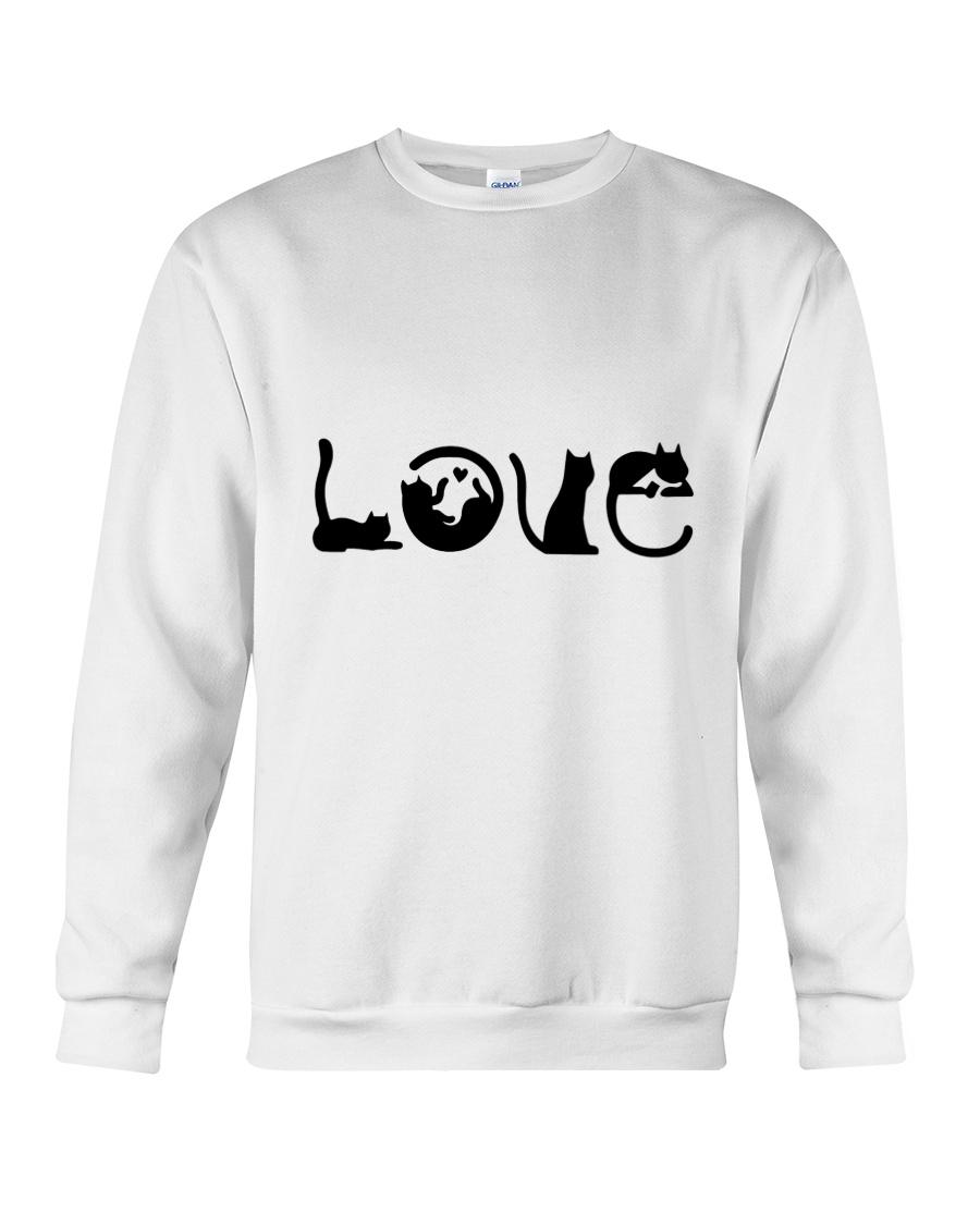 Cat Love Crewneck Sweatshirt