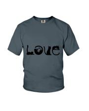 Cat Love Youth T-Shirt thumbnail