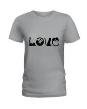 Cat Love Ladies T-Shirt thumbnail