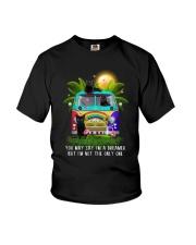 Black cat dreamer Youth T-Shirt thumbnail