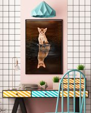 Abyssinian Cat Reflection Poster 1112 11x17 Poster lifestyle-poster-6
