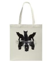 Black Cat Dreaming 3007 Tote Bag thumbnail
