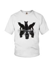 Black Cat Dreaming 3007 Youth T-Shirt thumbnail