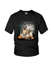 Siamese Halloween Youth T-Shirt thumbnail