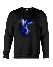 Black cat and Butterfly Crewneck Sweatshirt front
