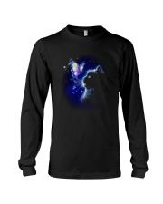 Black cat and Butterfly Long Sleeve Tee thumbnail