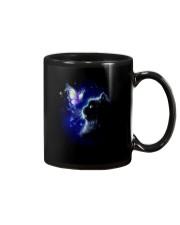 Black cat and Butterfly Mug thumbnail