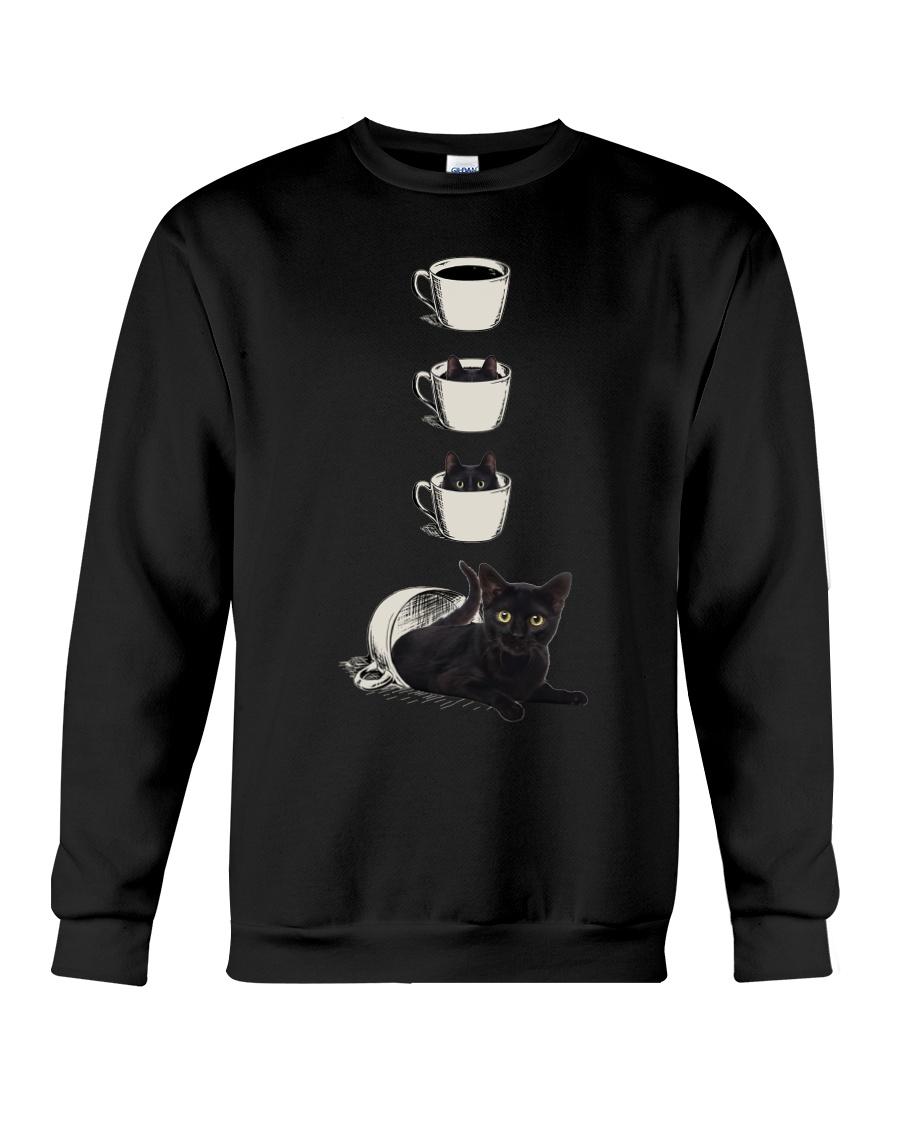 Cup Cat Crewneck Sweatshirt