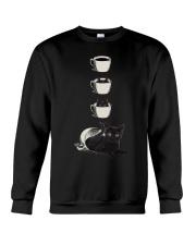 Cup Cat Crewneck Sweatshirt front