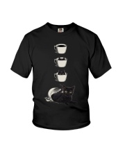 Cup Cat Youth T-Shirt thumbnail
