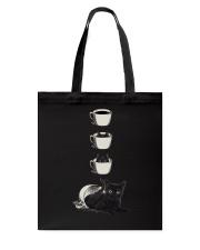 Cup Cat Tote Bag thumbnail