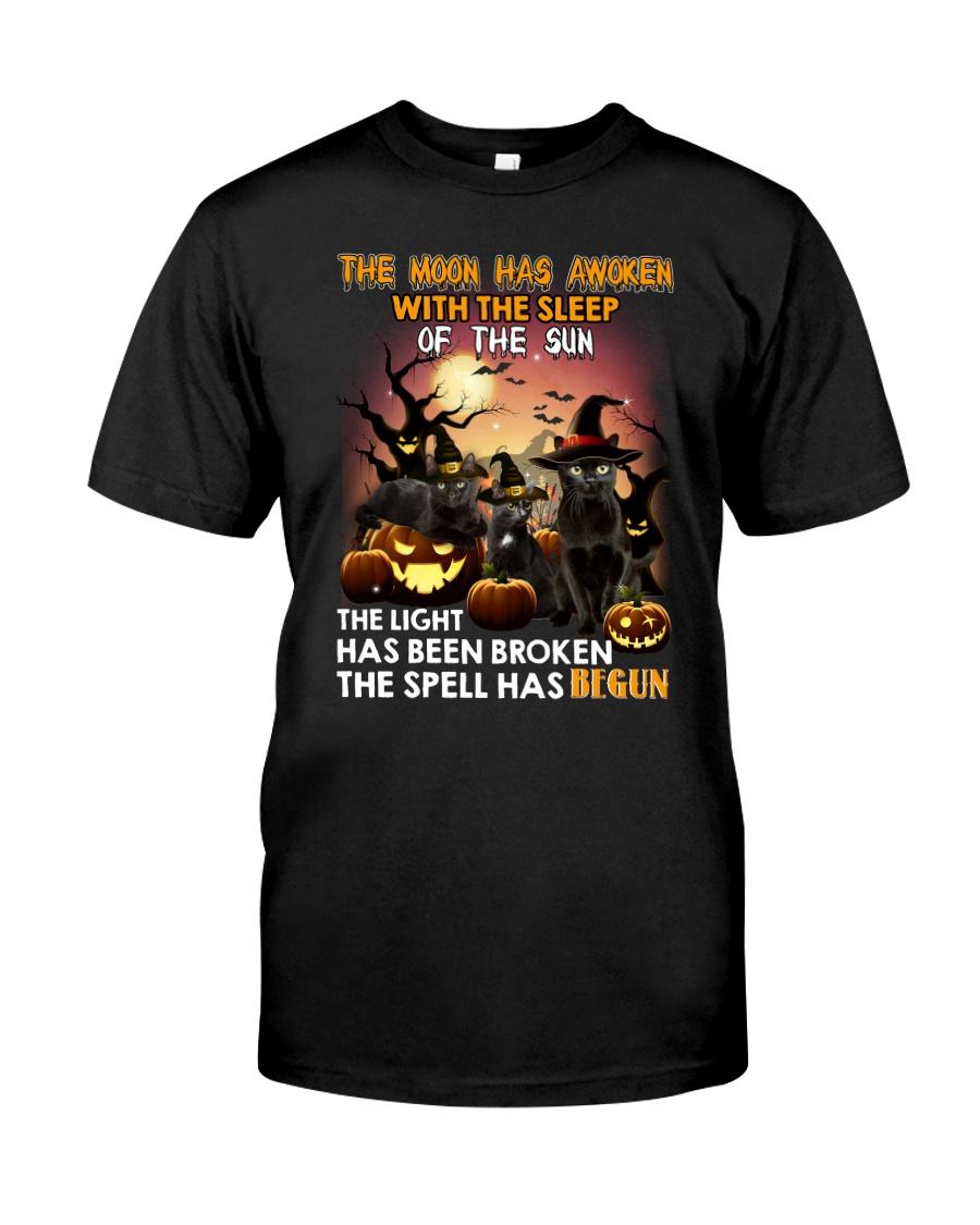 Black Cat Begun 1008 Classic T-Shirt
