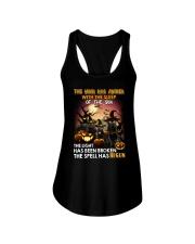 Black Cat Begun 1008 Ladies Flowy Tank thumbnail