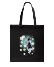 Cat dandelion Tote Bag thumbnail