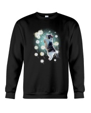 Cat dandelion Crewneck Sweatshirt tile