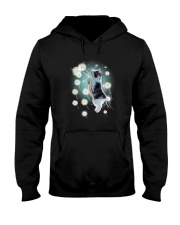 Cat dandelion Hooded Sweatshirt thumbnail