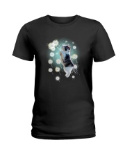 Cat dandelion Ladies T-Shirt thumbnail