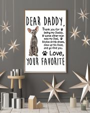 Peterbald Dear Daddy 1512 11x17 Poster lifestyle-holiday-poster-1