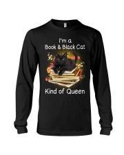 Book And Black Cat Long Sleeve Tee thumbnail
