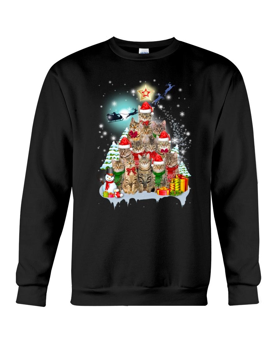 More Cats and Pine Crewneck Sweatshirt