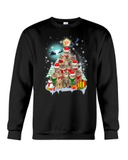 More Cats and Pine Crewneck Sweatshirt front