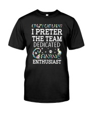 Crazy cat lady 1210 Classic T-Shirt thumbnail