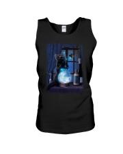 Black cat and magic ball Unisex Tank thumbnail