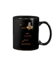 Cat Dad Mug Mug tile