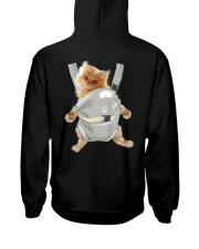 Persian cat carrier backpack 1012 Hooded Sweatshirt back